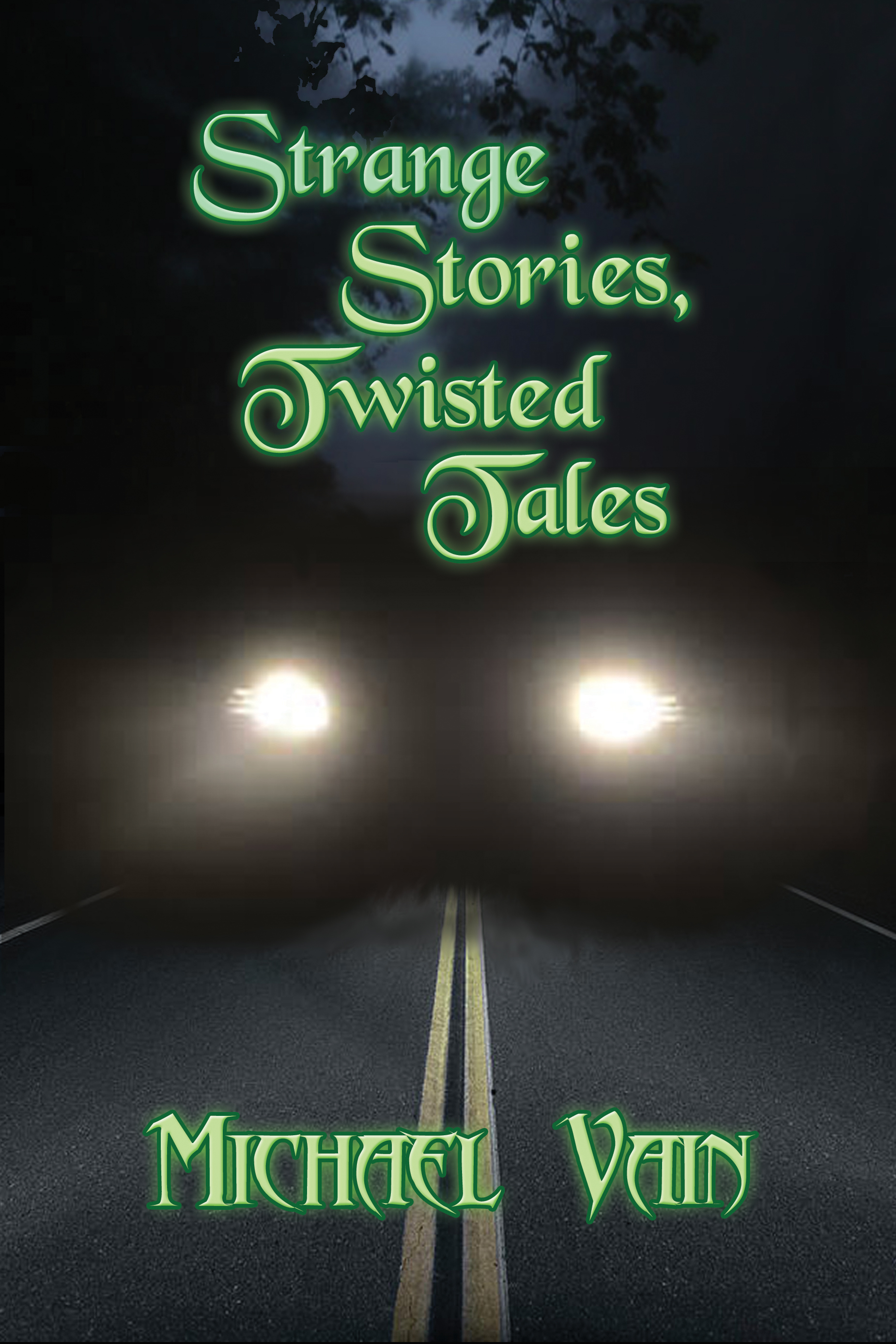 Cover for Strange Stories, Twisted Tales